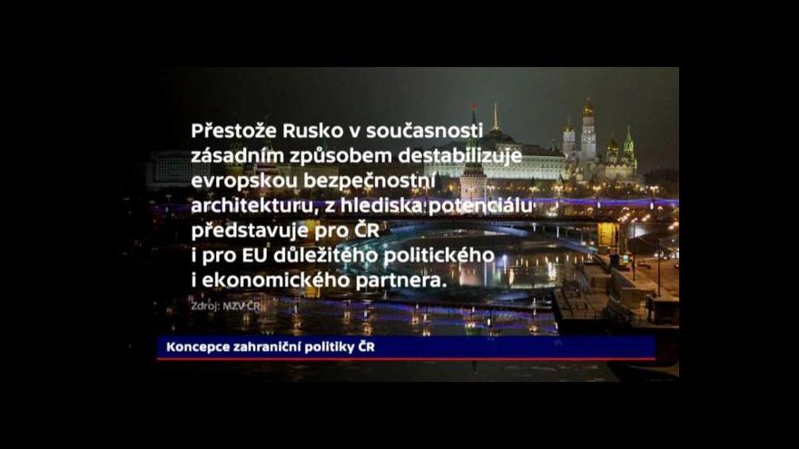 Video Podle Zaorálka si Česko nemá zavírat dveře do Ruska