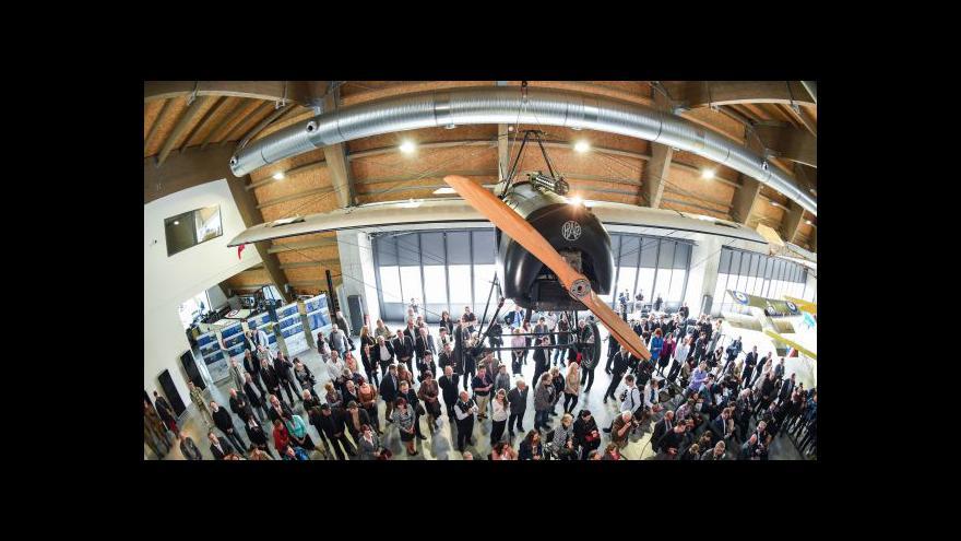 Video Otevírá letecké muzeum Metoděje Vlacha