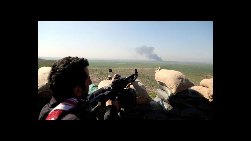 Video Lukeš: Irák nyní potřebuje hlavně munici a drony