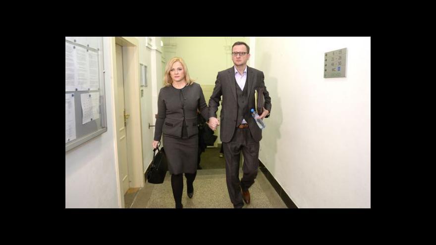 Video V kauze Nagyová se očekává výpověď Petra Nečase