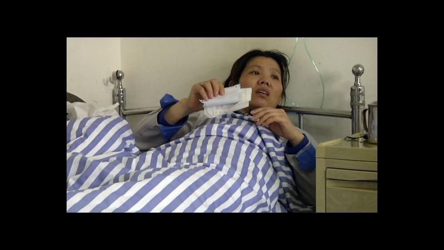 Video Čínští dělníci se dožadují svých práv