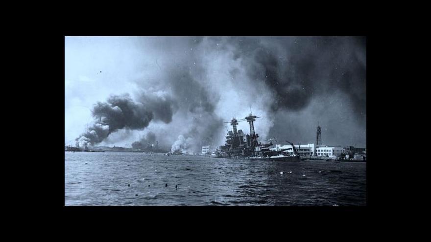 Video USA zapátrají po identitě obránců Pearl Harboru
