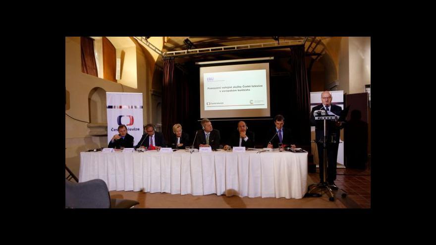 Video Evropská vysílací unie hodnotila kvalitu služeb České televize