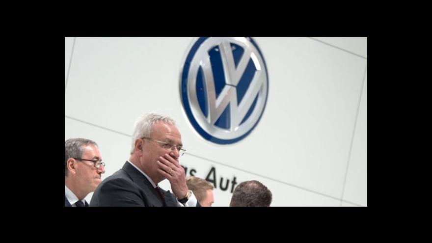 Video Winterkorn v čele Volkswagenu zatím zůstává