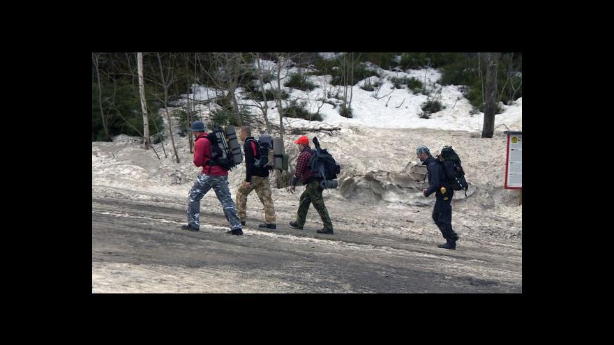 Video Poslední lyžařský víkend