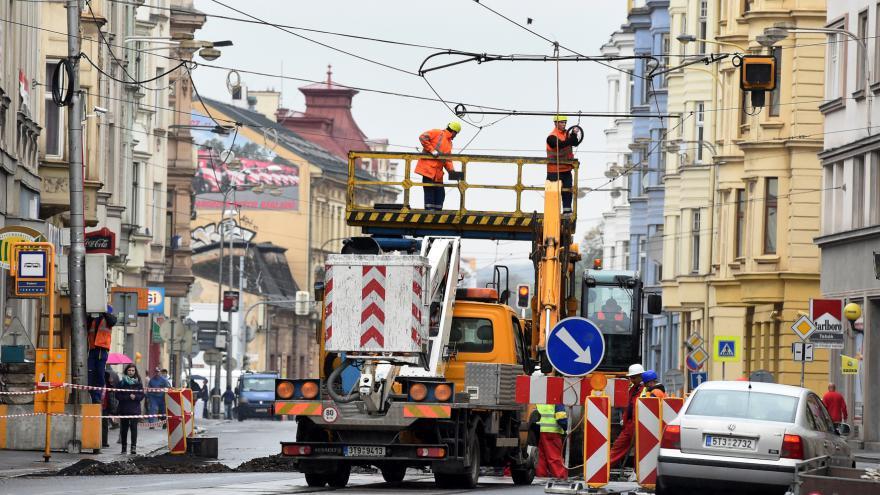 Video Dokončení rekonstrukce Nádražní ulice