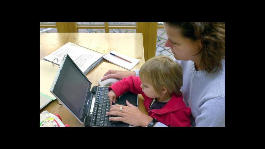 Video Přibývá rodičů samoživitelů, kteří podnikají