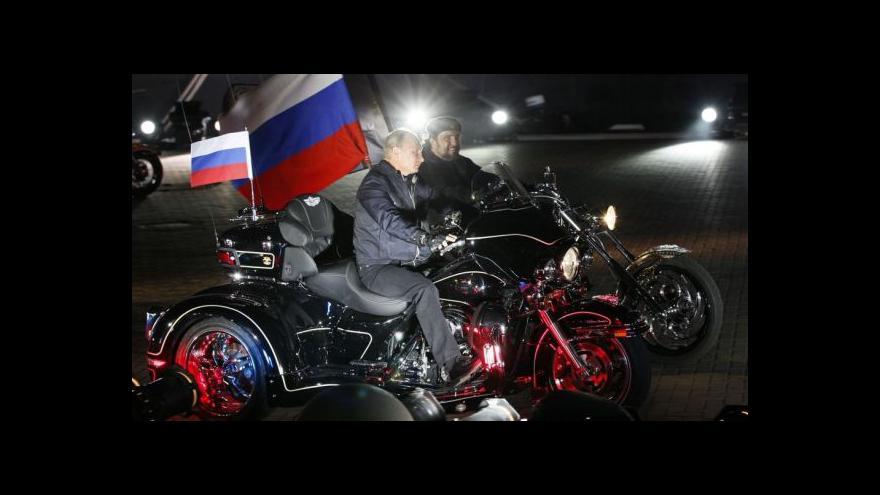 Video Šéf Nočních vlků Zaldostanov je oblíbencem Vladimira Putina