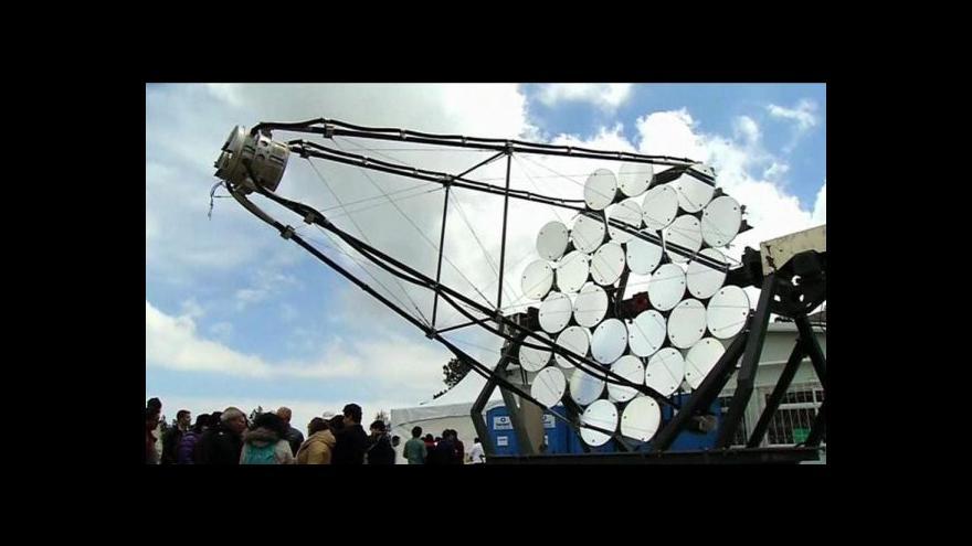 Video Horizont ČT24: Nahlížení do vzdáleného vesmíru