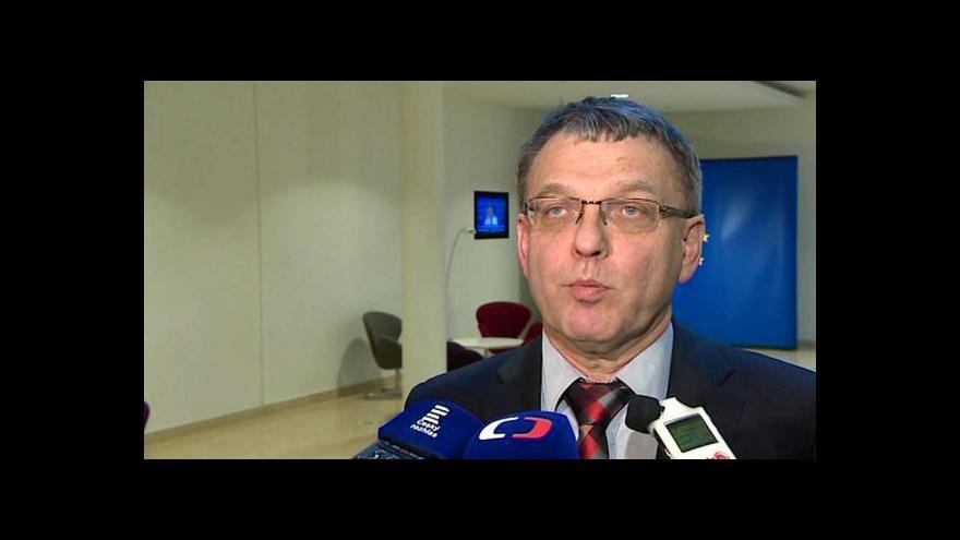 Video Ministr Zaorálek k jednání EU o uprchlících