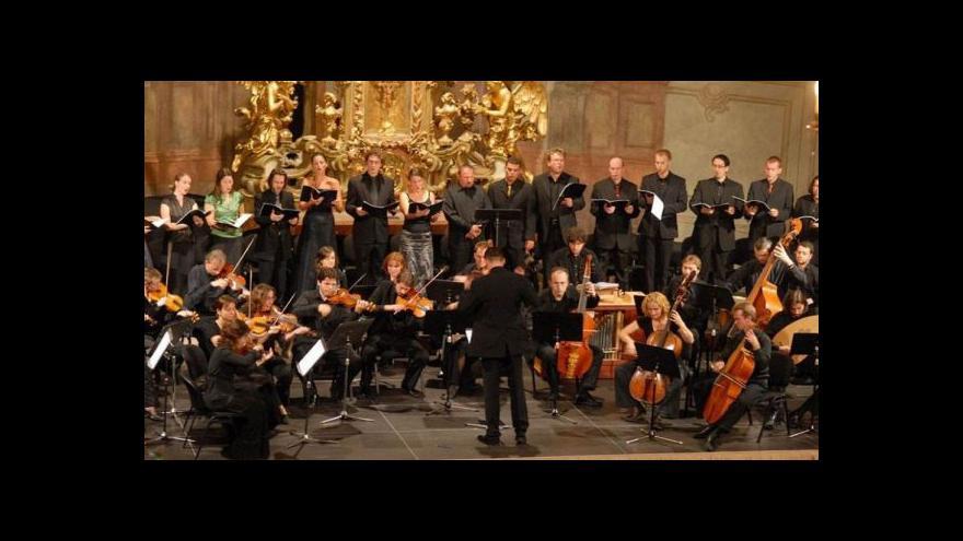 Video Ensemble Inégal odehraje v premiéře Zelenkovy nešpory