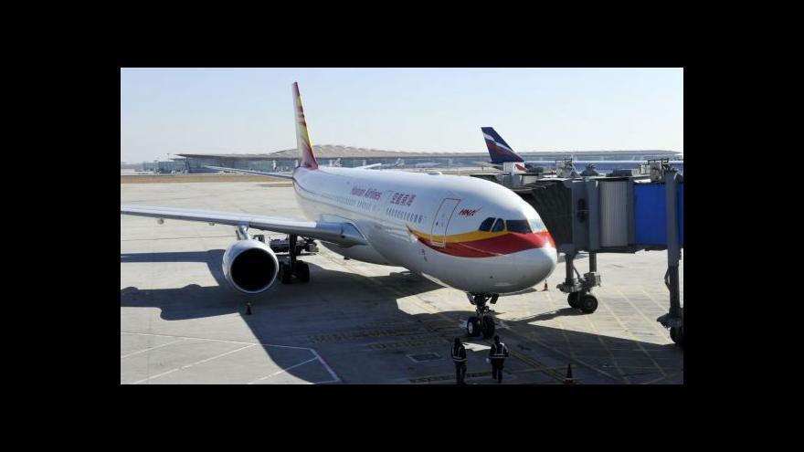 Video Od září se bude létat z Prahy do Pekingu přímo