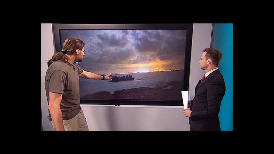 Video Příběh syrského uprchlíka vypráví český novinář Stanislav Krupař