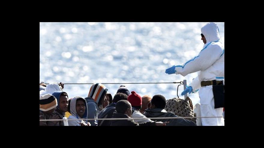 Video Středozemní moře se stalo hřbitovem pro další stovky uprchlíků