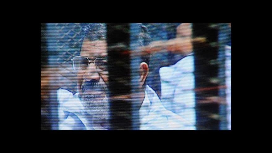 Video Dvacet let pro exprezidenta Mursího