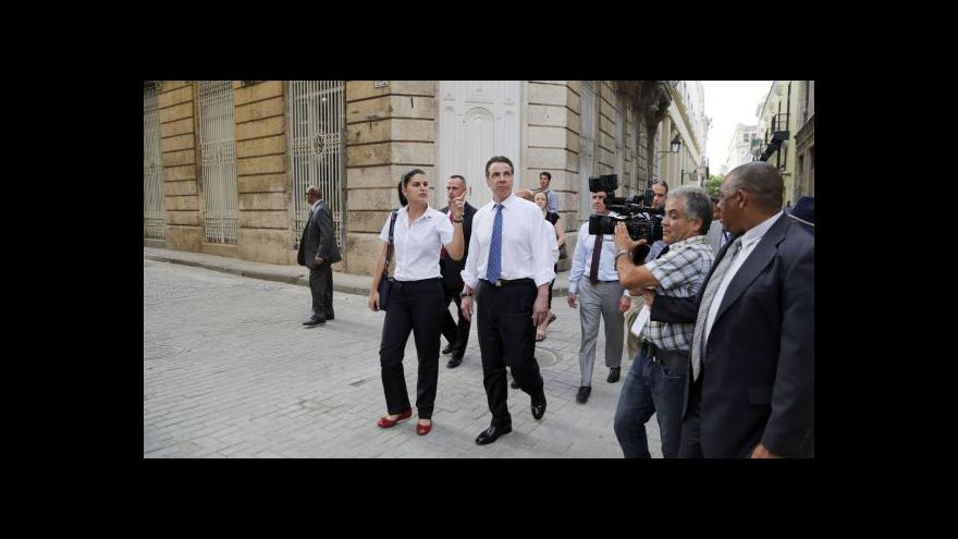 Video Přelomová cesta guvernéra New Yorku na Kubu