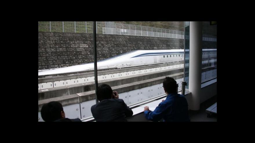 Video Japonský blesk na železnici překonal další rekord