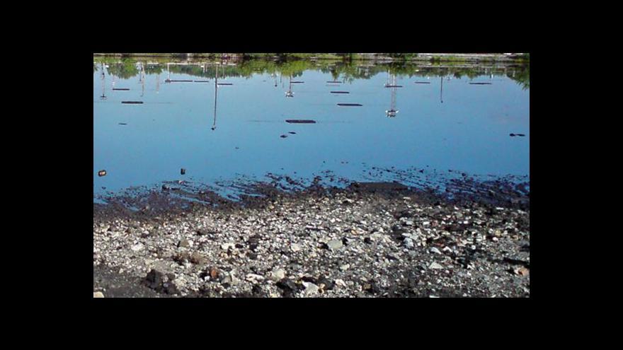 Video Vytěžené kaly z doubravského rybníka pálí elektrárny a teplárny