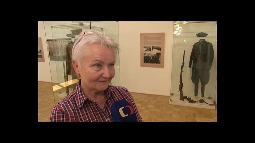 Video Historička Slováckého muzea Blanka Rašticová o haptické prohlídce
