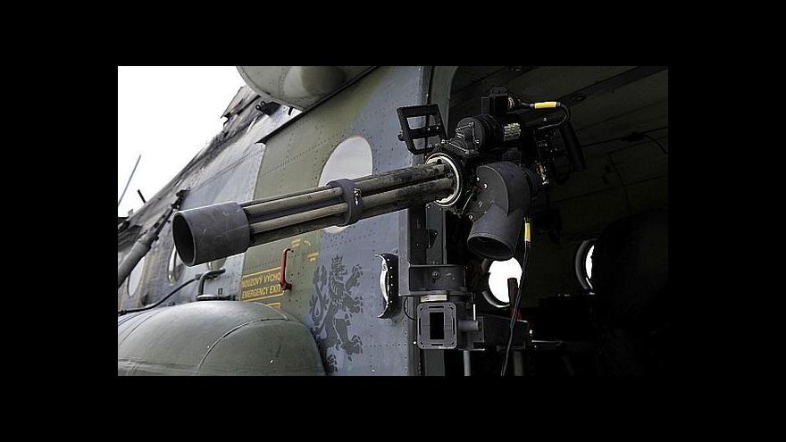 Video Vrtule české armády se točí na světové úrovni