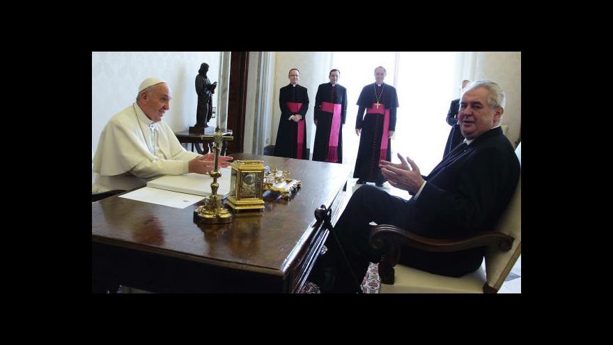 Video Události: Papež přijal pozvání na Velehrad