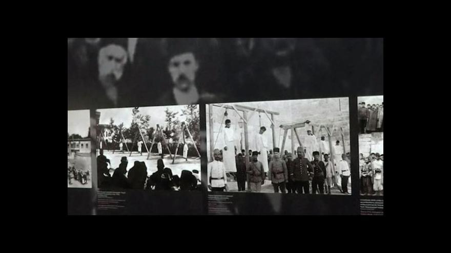 Video V Jerevanu začalo fórum proti zločinu genocidy