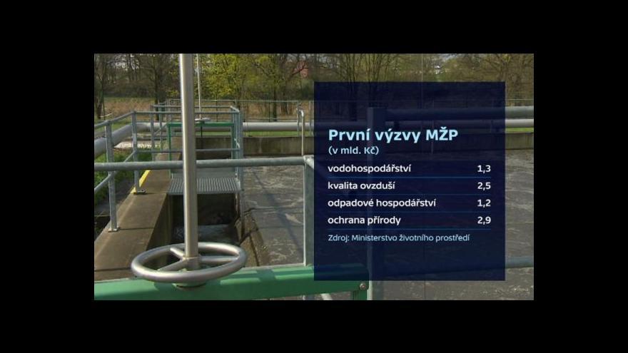 Video Ministersto životního prostředí spouští první výzvy