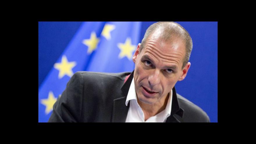 Video Robejšek: Řecko chce zůstat na kapačce eurozóny