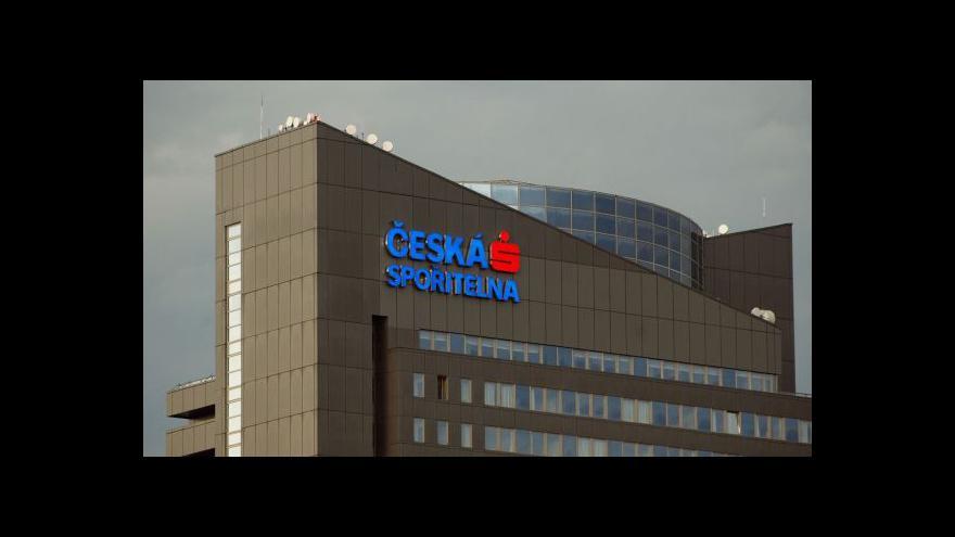 Video Česká spořitelna: Dividenda bude 75 korun