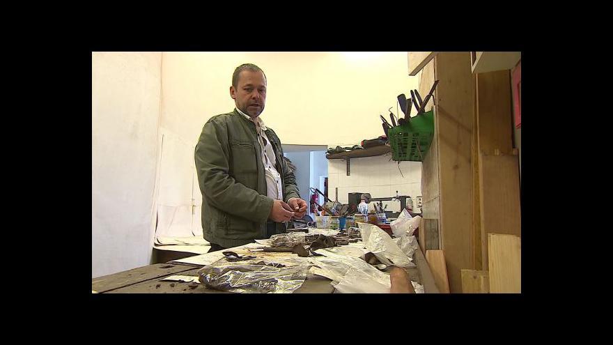 Video Historik Vlastimil Schildberger o nalezeném hrobu u Těšan