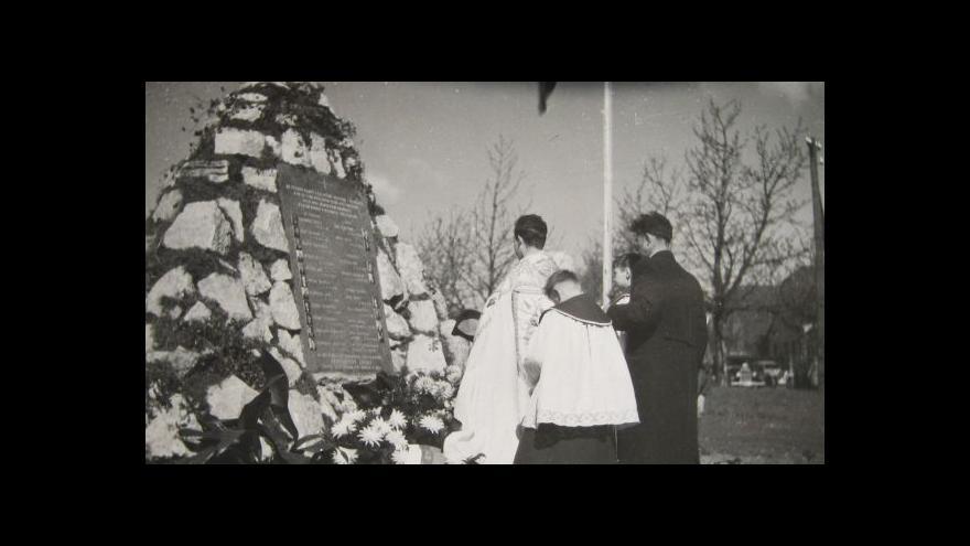 Video 70 let od tragédie v Zákřově