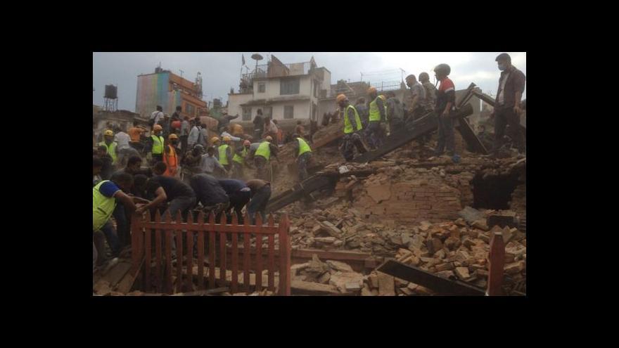 Video Seismolog: Zemětřesení se děje v Nepálu pravidelně