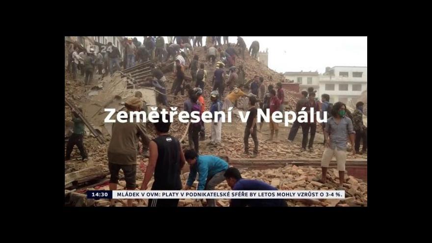 Video Zemětřesení v Nepálu
