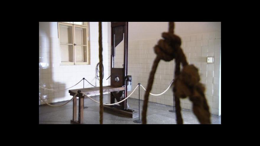 Video Popravy na Pankráci zastavil až blížící se konec války
