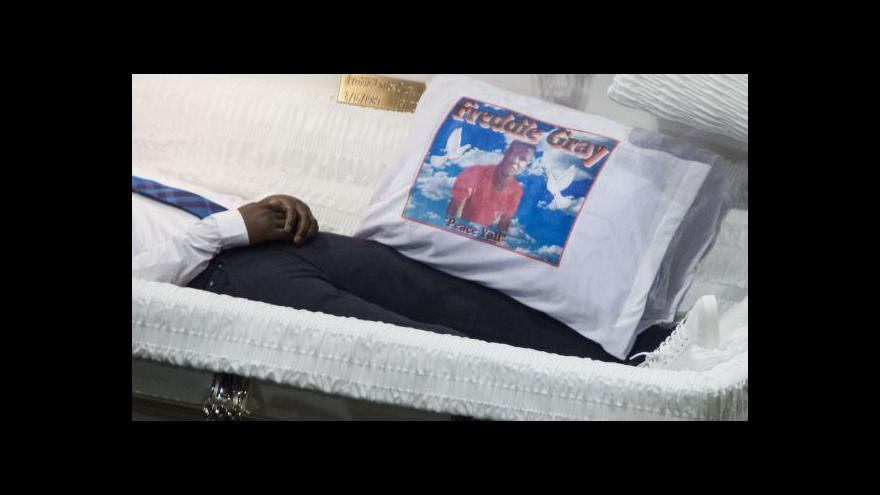 Video Smrt Freddieho Graye ještě stále nebyla objasněna