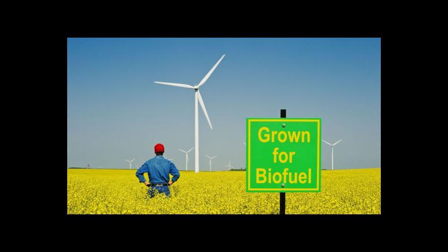 Video Výroba biopaliv ze zemědělských plodin se omezí
