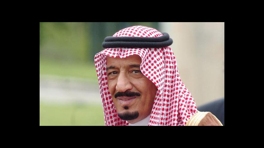 Video Politické zemětřesení v Saúdské Arábii