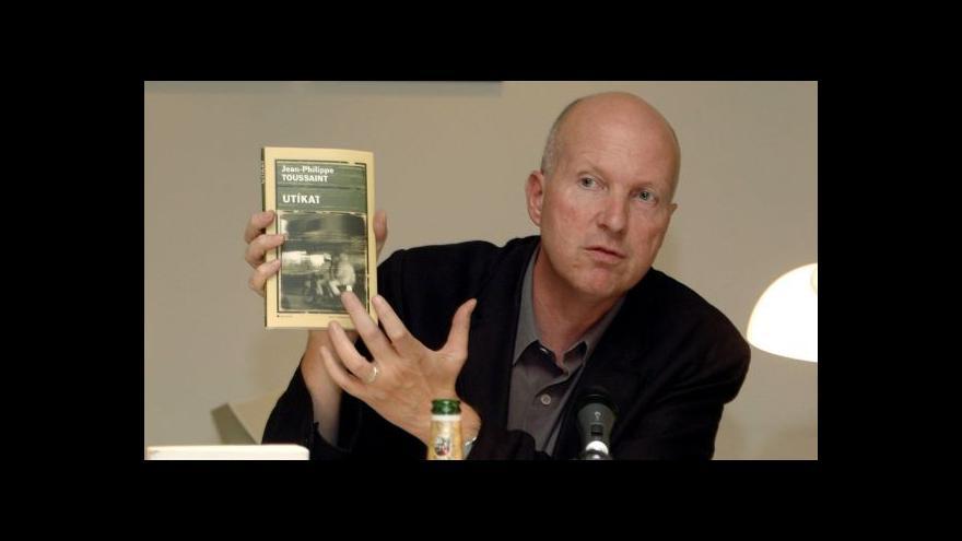 Video Spisovatel Toussaint: Literatura je pro mě posvátná