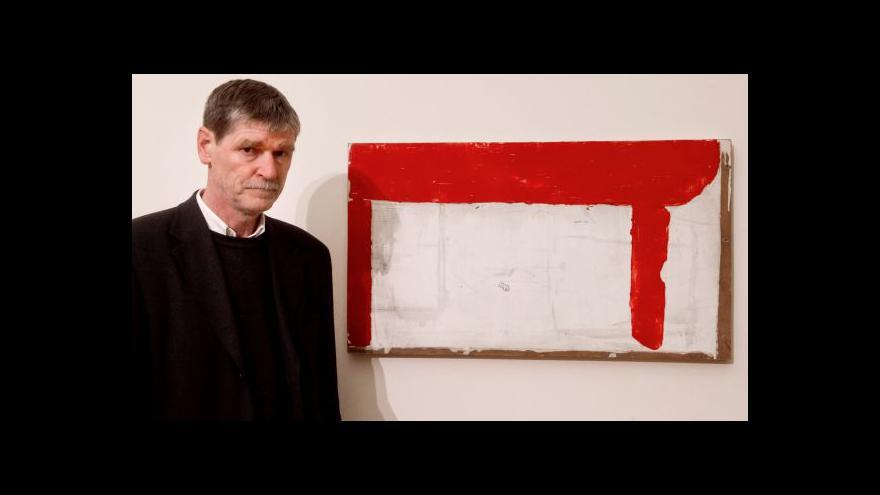 Video Petr Veselý vystavuje v malé galerii Rudolfina