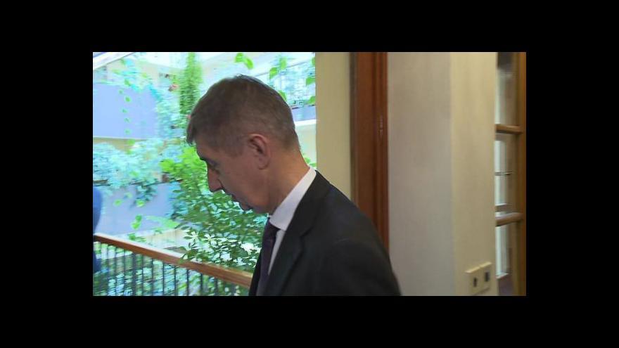 Video Koalice se shodla na schodku rozpočtu