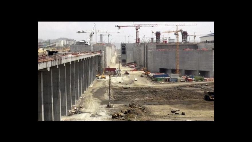 Video Přestavba Panamského průplavu jde do finále