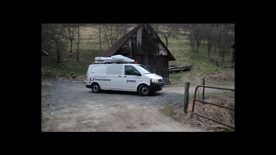 Video Satelitní vůz brněnského zpravodajství