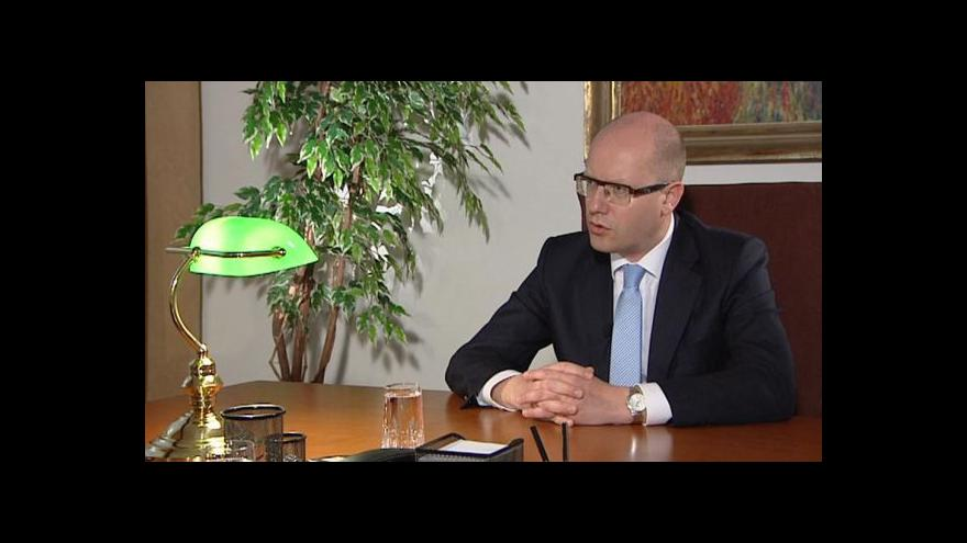Video Týden v politice: Rozhovor s Bohuslavem Sobotkou