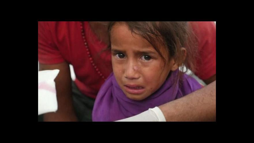 Video Český tým zdravotníků se pustil v Nepálu do práce