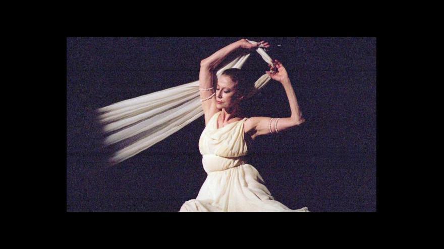 Video Nina Vangeli: Byla to první dáma ruského baletu