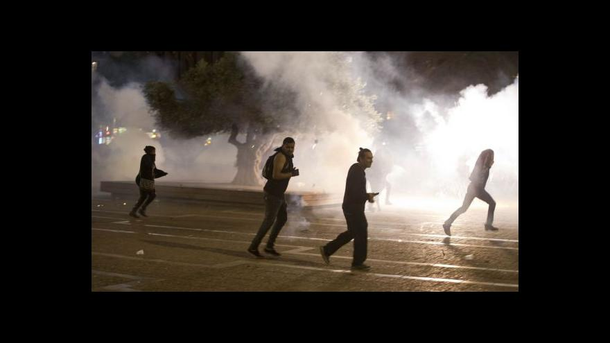 Video Terl Aviv zažil nejsilnější protesty za několik dekád