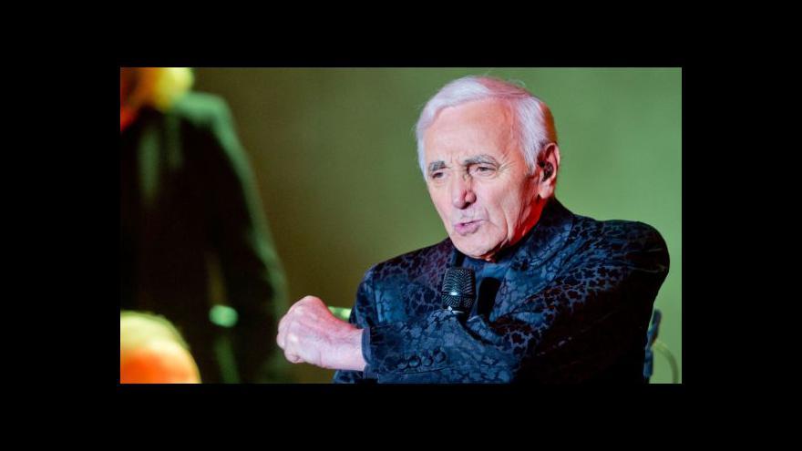 Video Pavel Klusák: Aznavour je ambasadorem poválečného období