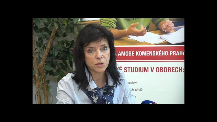 Video Sestřih z brífinku Univerzity J. A. Komenského