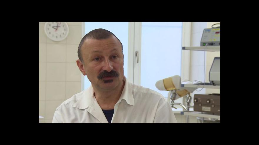 Video Hovoří primář porodnického oddělení z Vyškova Josef Eim