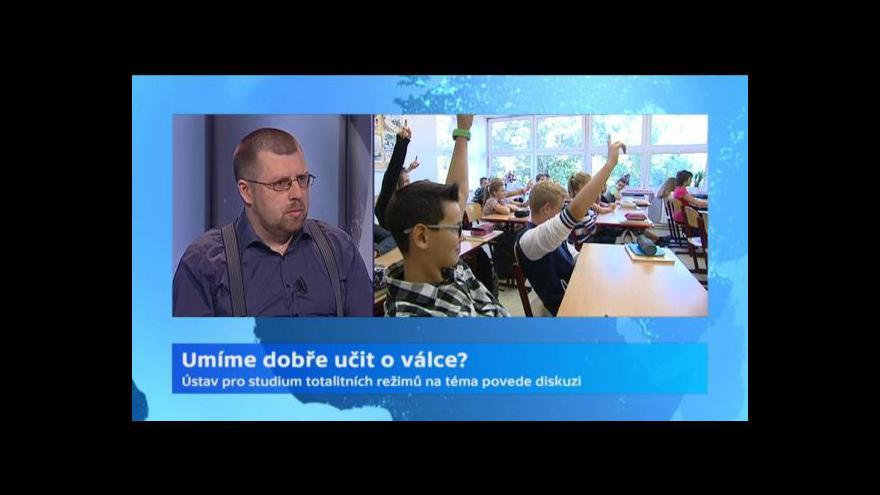 Video Pinkas: Není důležité znát všechny bitvy, ale souvislosti